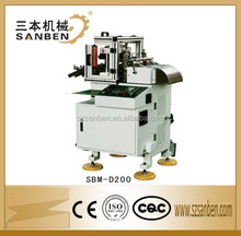 1000x900x1270mm SanBen brand (SBM-D200) automatic sticker cutting machine, label die cutter with rewinder
