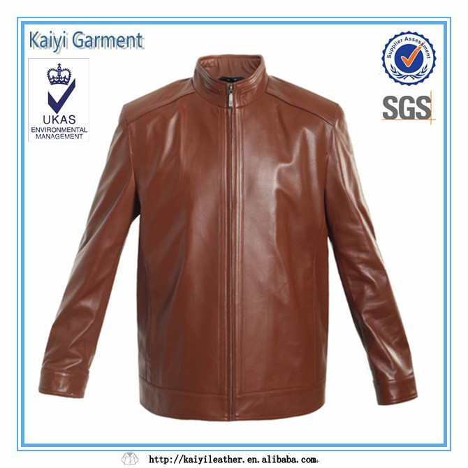 Plus size motorcycle wholesale man leather jackets buyers