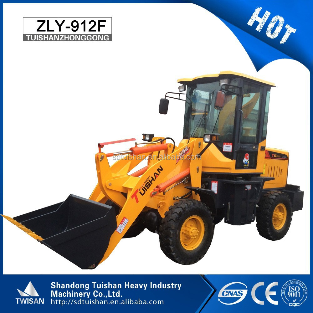 Chinese Brand New Farming agricultural equipment 4 wheels drive mini loader