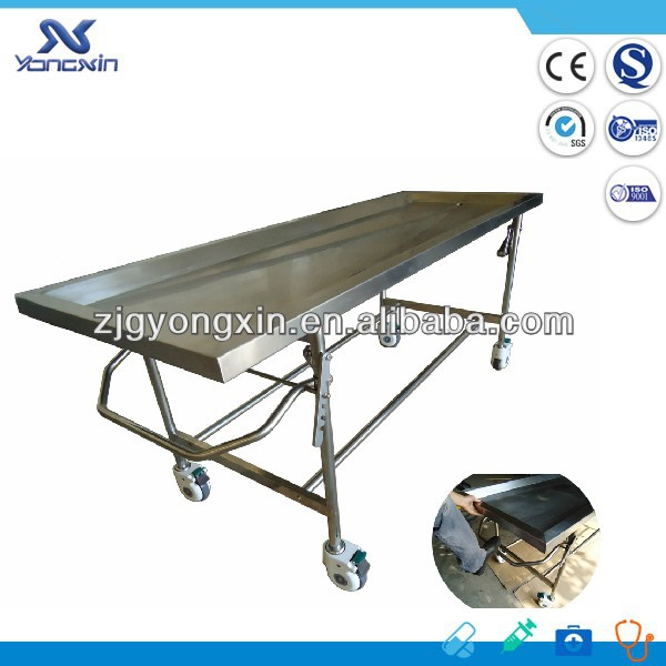 Funeral moveable autopsy equipment
