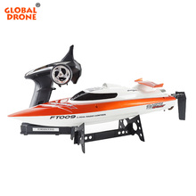 global drone Feilun FT009 2.4GHz 4 Channel Water Cooling High Speed Racing RC Boat Gift FT009 <strong>remote</strong> control boat