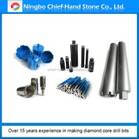 Newest design top grade different size diamond core bits/concrete core cutting tool diamond drill bit