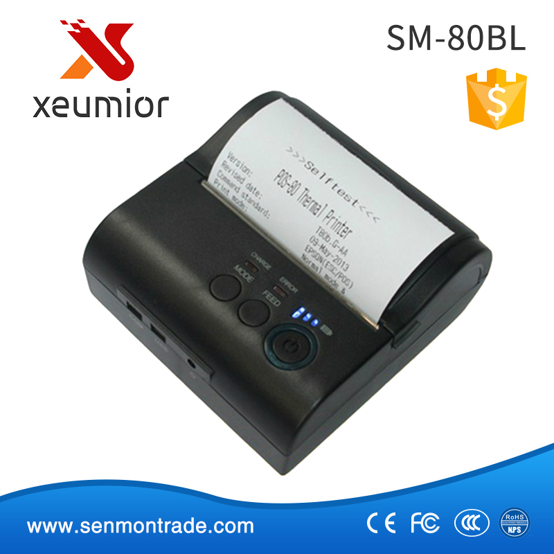 SM-80BL Android Mini Portable Bluetooth Mobile Printer