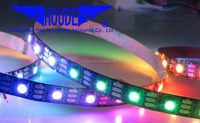 battery powered led strip light Magic Dream Color Digital DMX Programmable Addressable SMD 5050 WS2811 WS2812B RGB LED