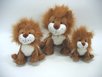 high quality kids toy forest animals stuffed plush lion