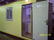 prefabricated home / durable 20ft container house / prefab cabin