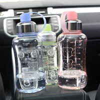 pet Portable Bike Sports Unbreakable Plastic Water Bottle New design High quality plastic portable bottle Sealing water bottle
