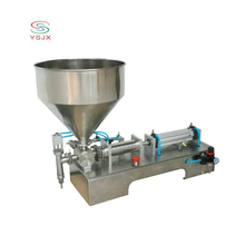 High efficiency semi-automatic syrup bottle filling machine