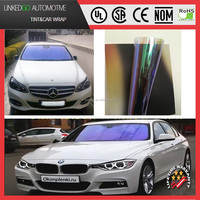 Factory price anti UV IR glare 1.52m*30m PET material chameleon window film for car glass