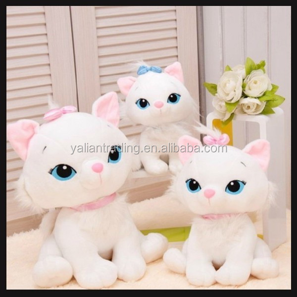 lifelike animals toy cat plush toy high quality