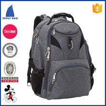 New fashion unique elegant high quality 15 inch business laptop backpack for man