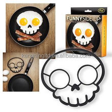Cooking Silicone Egg Mold, Skull Egg Ring, Hot New Product for 2015
