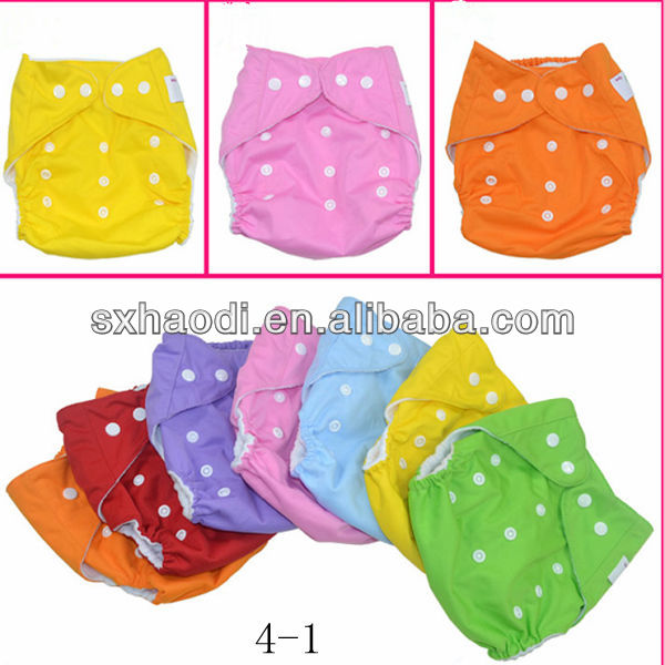 Hot Sale Printing Button Pocket Cloth Happy Generic Baby Diapers,baby diaper