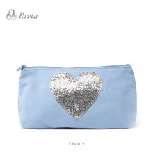 cosmetic bag for 2017 china factory online shopping stock cheap price women shiny cotton cosmetic bag wholesale cosmetic bag