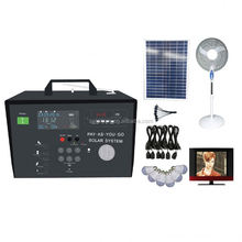 new style dc fan 3W LED lithium battery solar energy light kit mini home power systems