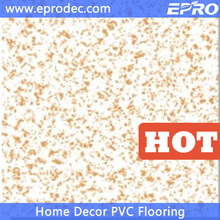 Stone Pattern marbling pattern commercial use composite vinyl pvc flooring