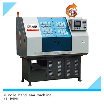 CNC circle machine band saw