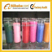 2015 good quality cheap Scented Glass jar candles