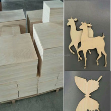 laser cutting usage woodcrafts basswood plywood