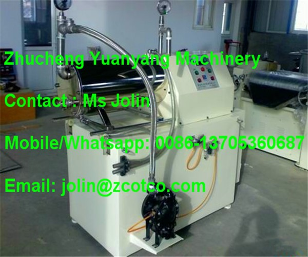 20L Horizontal Horizontal sand mill for printing ink, Horizontal bead mill grinding machine