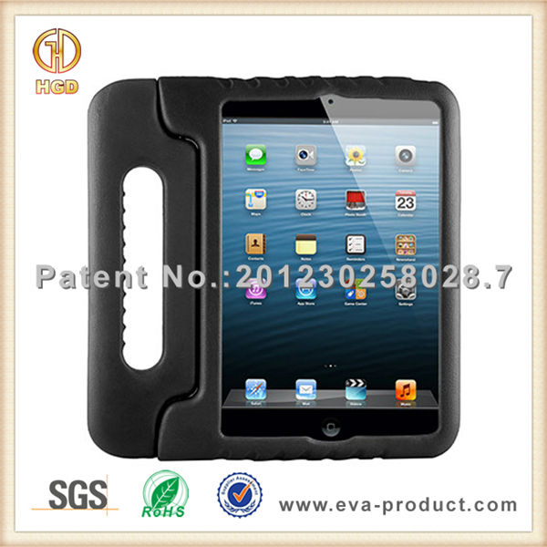 New style case for ipad mini, Kid proof soft handle grip tablet case