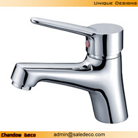 3406 chrome basin taps single handle copper faucet