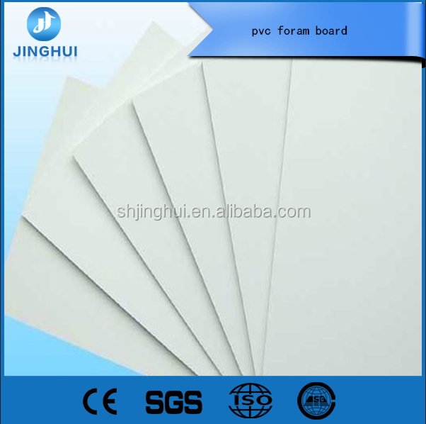 Close cell structure high density 1-5mm pvc foam board