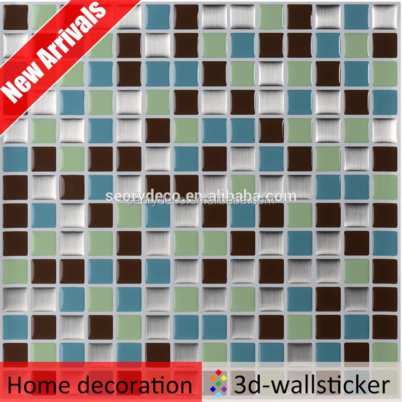 high quality mosaic peel and stick tile review