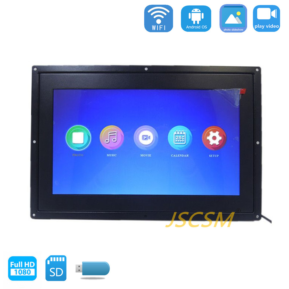 13.3 inch full hd video loop hot sexy digital photo picture open frame display