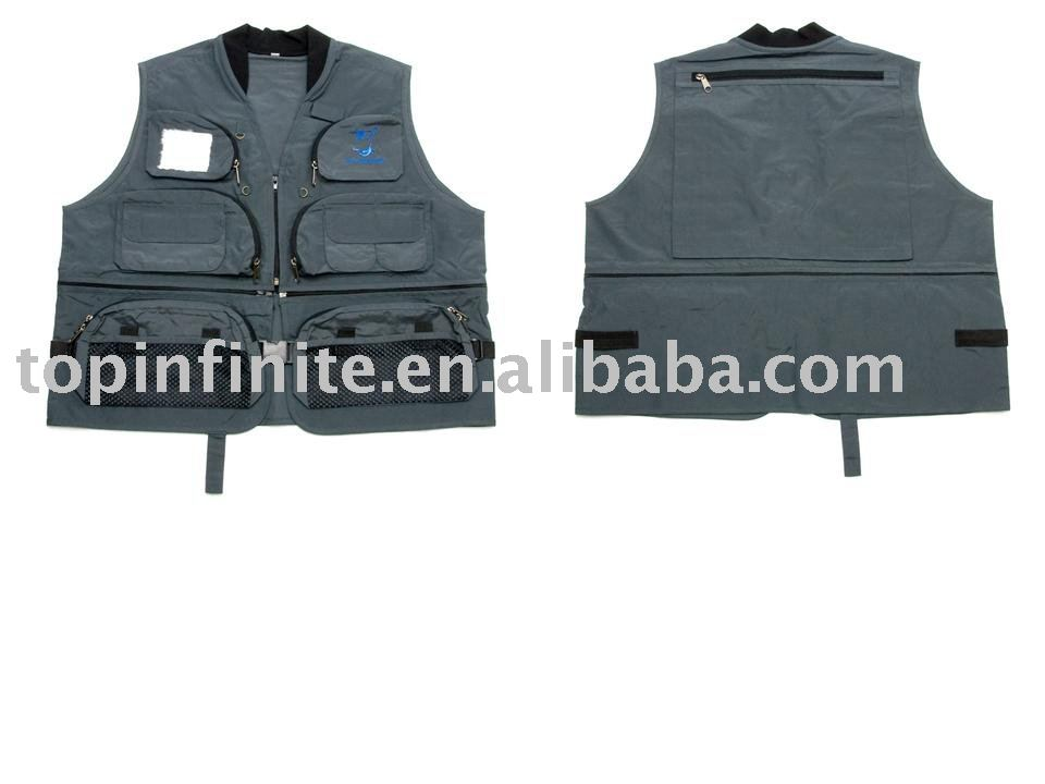Fishing Vests, life vests, fishing tackle, FV-021