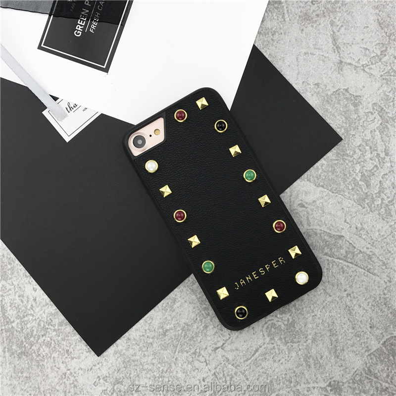 Mobile phone casing soft tpu phone case,for iphone 8 leather case