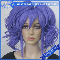 Factory prices japan synthetic wig easy anime cosplay, dragonball cosplay, dropship cosplay wig