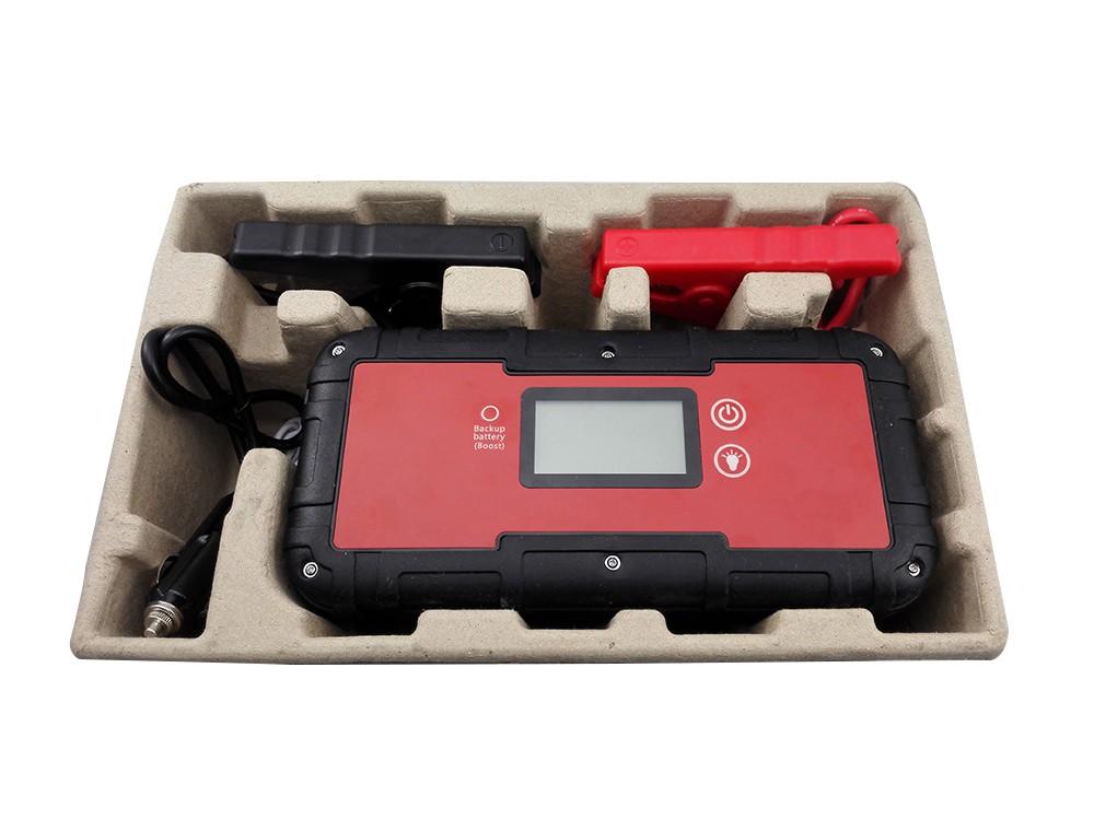 Capacitor 6000 mAh ir para iniciantes com carga rápida para a ferramenta profissional do carro começar a 12 V carro a gasolina