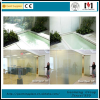 Clear To Opaque Adjustable Electric Window Tinting Film