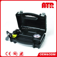 Have cigarette lighter socket and working light function air compressor for car tyre