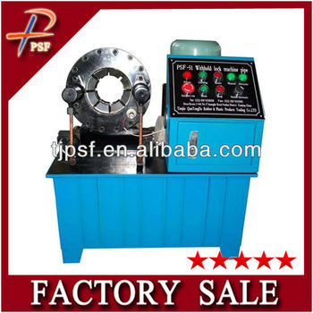 (PSF-51) 6-51mm/(1/4-2'') hose hydraulic press