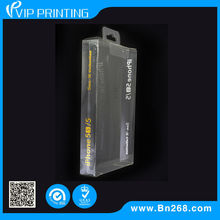 2014 Guangzhou Custom Folding clear plastic retail packaging