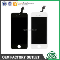 Original cell phone lcd spare parts for iphone 5s lcd repair parts in low price