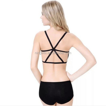 2015 Fashion Hot Lady Crisscross Back Sport Boob Tube Top
