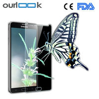 Cheap price!High quality 9H 0.3mm 2.5D tempered glass screen protector for iphone