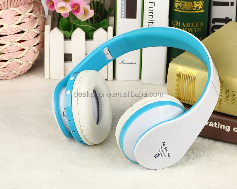 Sport Wireless Fordable Bluetooth Headphone with FM Radio Receive Call