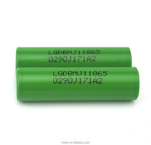 Wholesale LG MJ1 18650 battey INR18650 MJ1 3500mah 10A discharge 18650 battery tube mod big battery mod e-cigarette