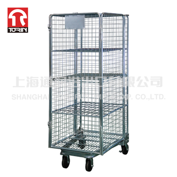 Torin SWK1014B Supply High Quality Metal Logistics Foldable Rolling Security Cage