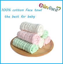 Hot sale baby bamboo washcloths 30*30 organic cotton baby face washcloth towel wholesale