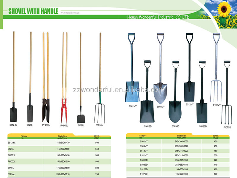 Agricultural hand tools south africa types of shovel with for Kinds of gardening tools