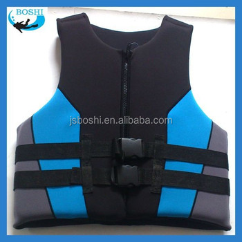 marine life safety appliance NBR neoprene life jacket
