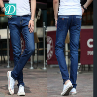 2016 new model men long straight slim leg jeans
