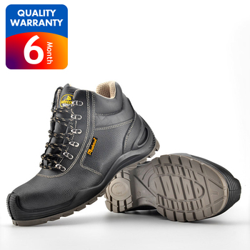 Fashion safety shoes and boots designer men leather shoes