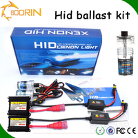 2PCS car dual hid xenon kit replace HID headlight 6k 35W55W h4 h4-3 D1S D2S 9004 9005 880 HB3 H7 hid bi xenon all in one hid kit