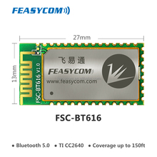 Bluetooth BLE 5.0 TI CC2640R2F module for BLE device and beacon application